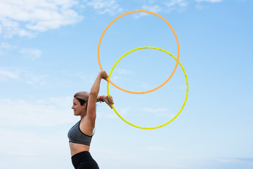Hula Hoop dance Photography