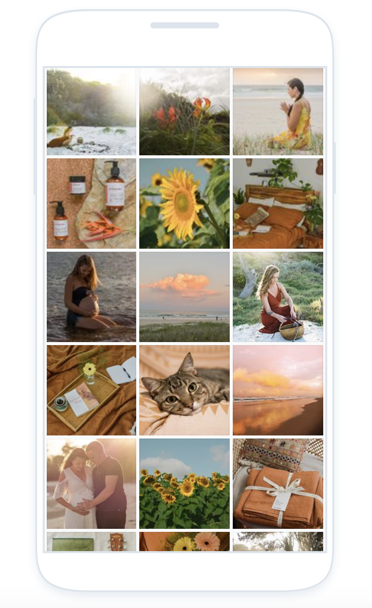 Planning your instagram grid