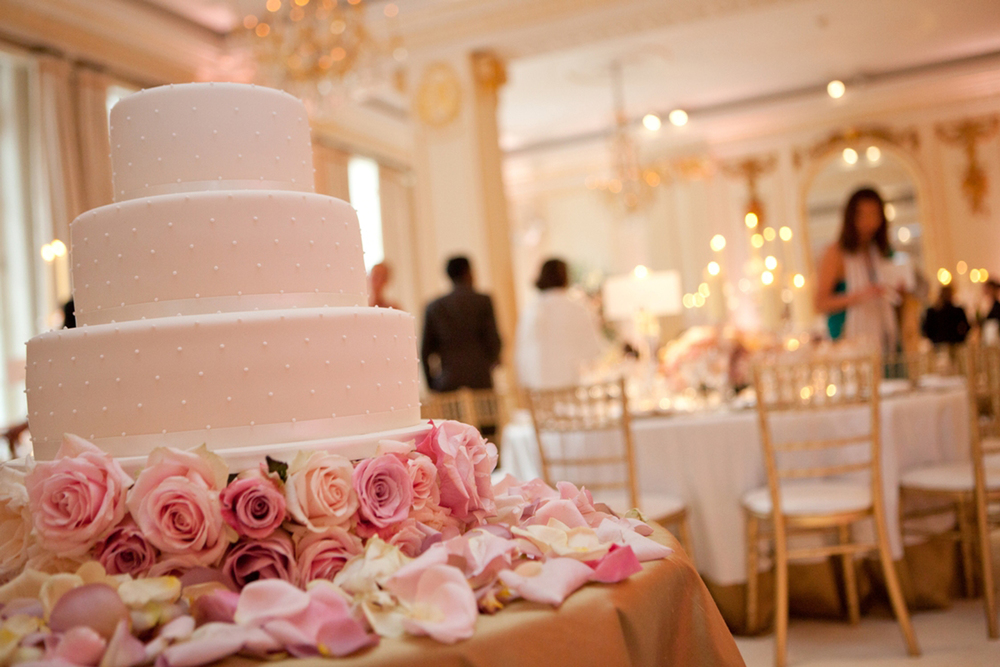 Wedding Cake and Room