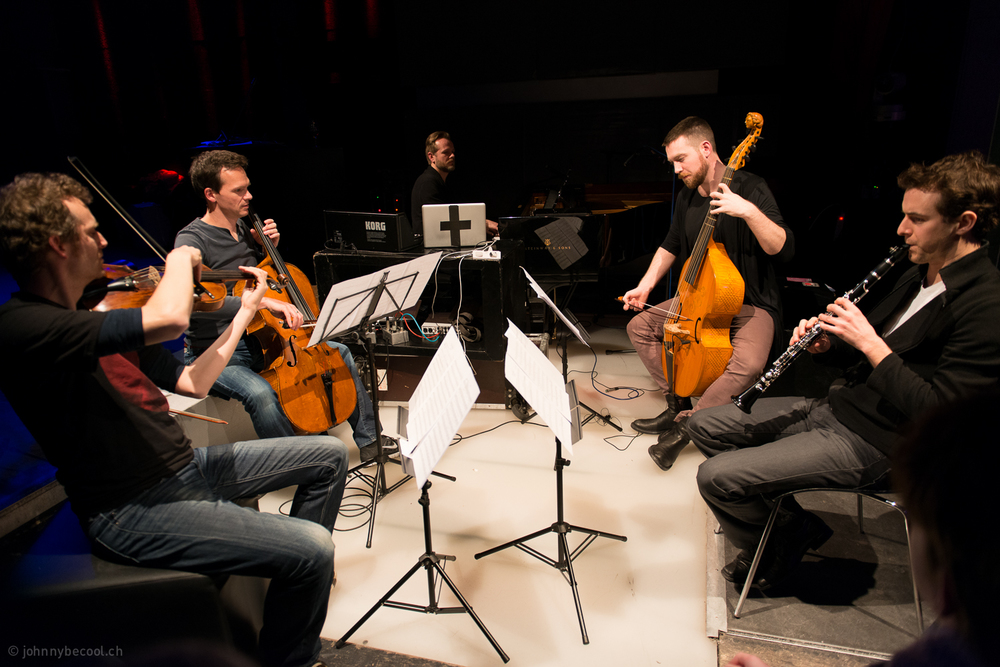Etienne Abelin, Andreas Fleck, Valgeir Sigurdsson, Liam Byrne & David Orlowsky in music by Valgeir Sigurdsson