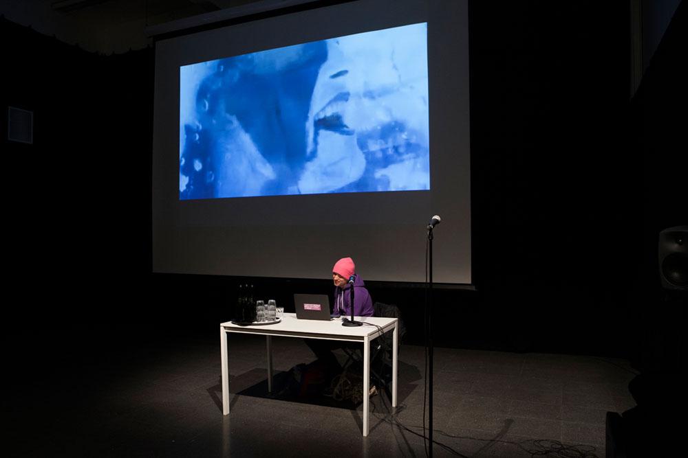 Oslo poesifilm 2015,Steve Roggenbuck (USA).Foto: Henrik Beck