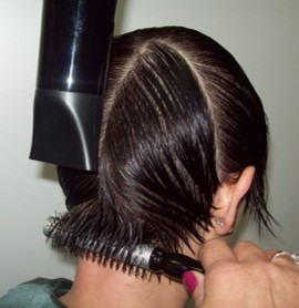 Blow Drying Above Shoulder Reflections Training Academy