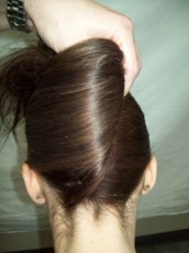 4.  Positioning pleat