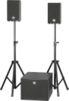 Powerworks Soundhouse One Aktiv   P  A inkl. Stativ   Mietpreis CHF 180.00
