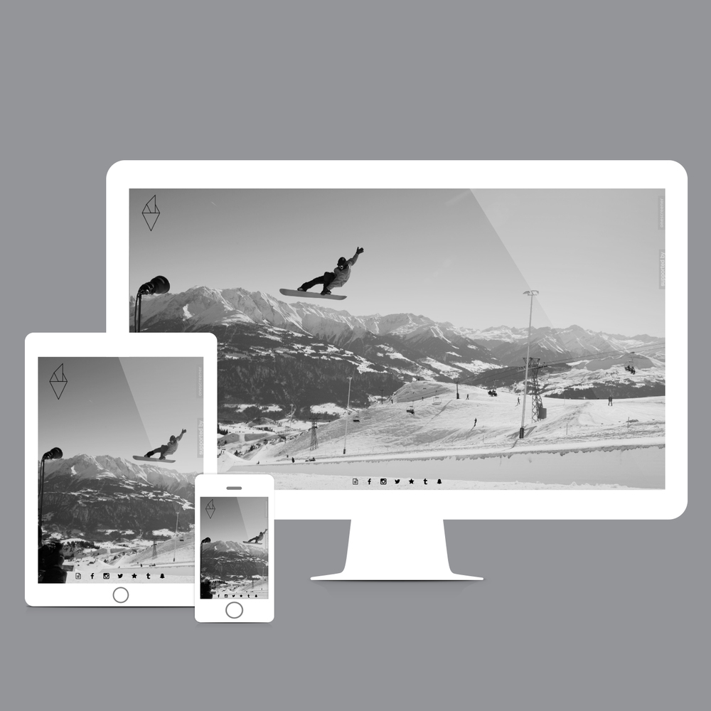 Onescreener website created by olympic gold medalist  Iouri Podladtchikov