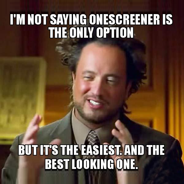 Onescreener memes campaign for the release