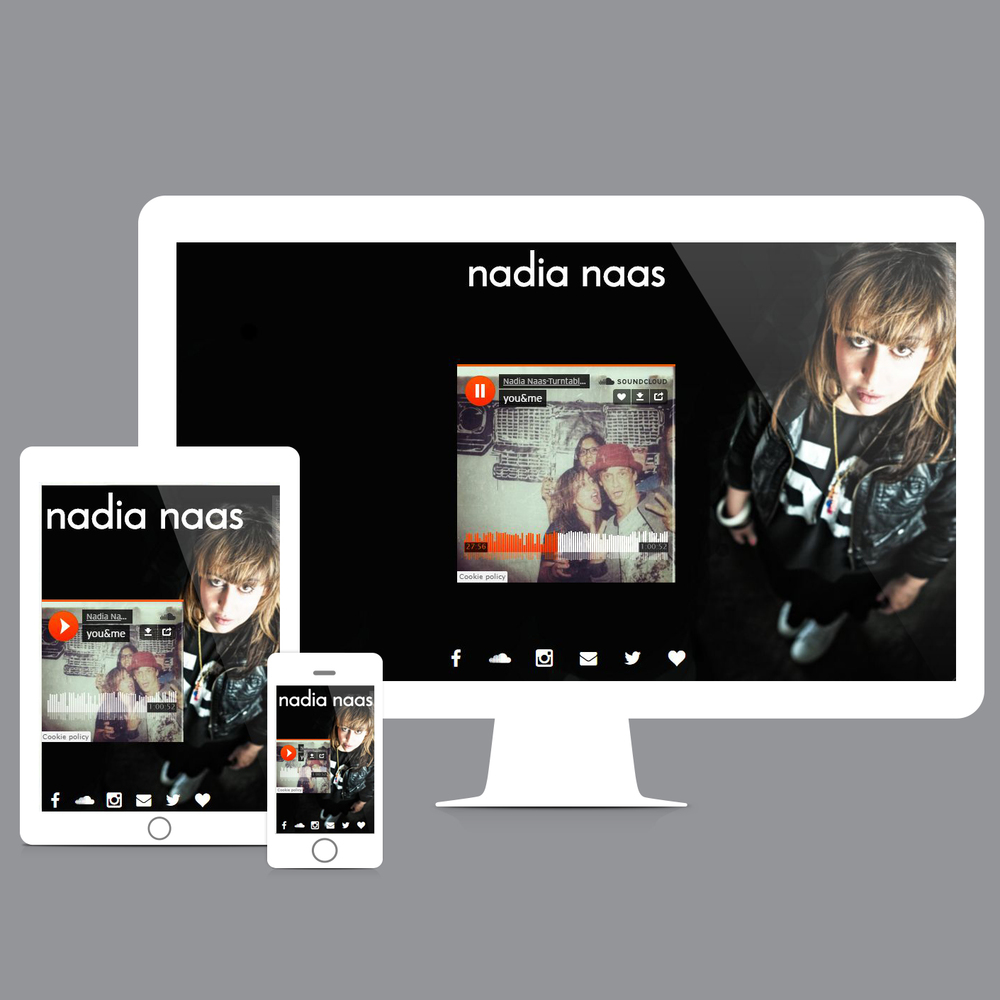 Onescreener website created by DJane  Nadia Naas