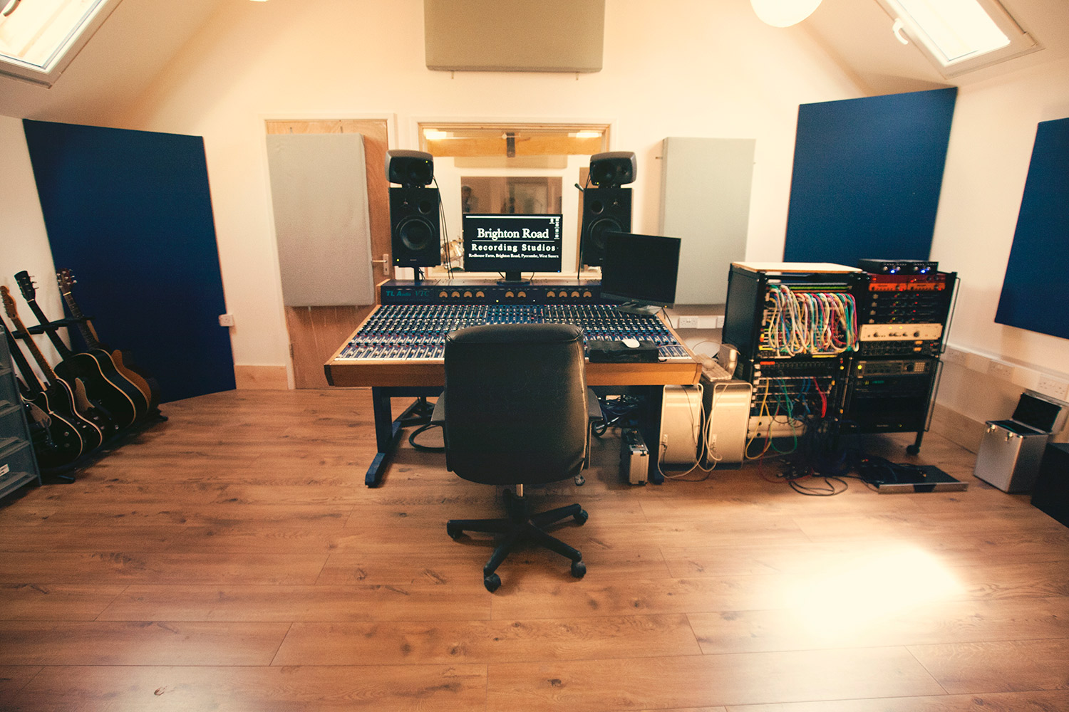 Brighton Road Recording Studios The Control Room