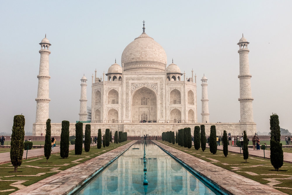 No caption needed.  Taj Mahal, Agra, Uttar Pradesh.