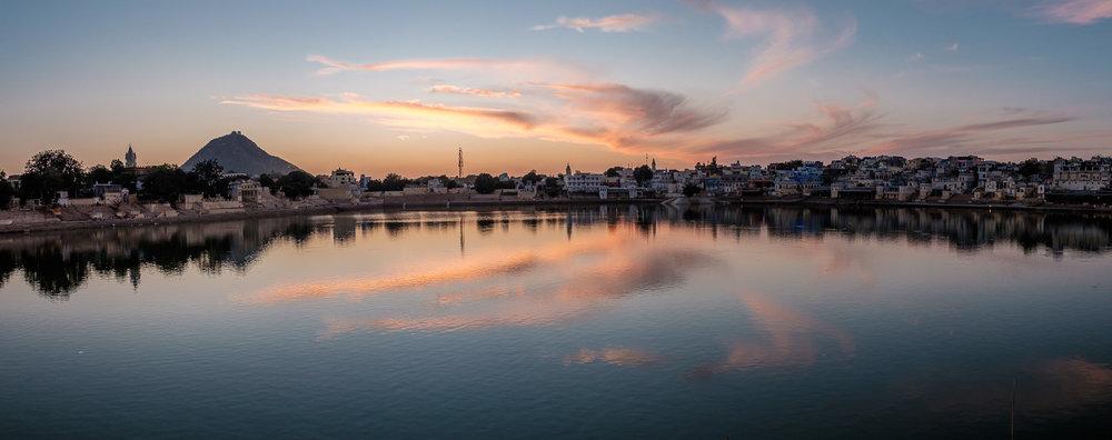 Pushkar lake. Pushkar, Rajasthan.