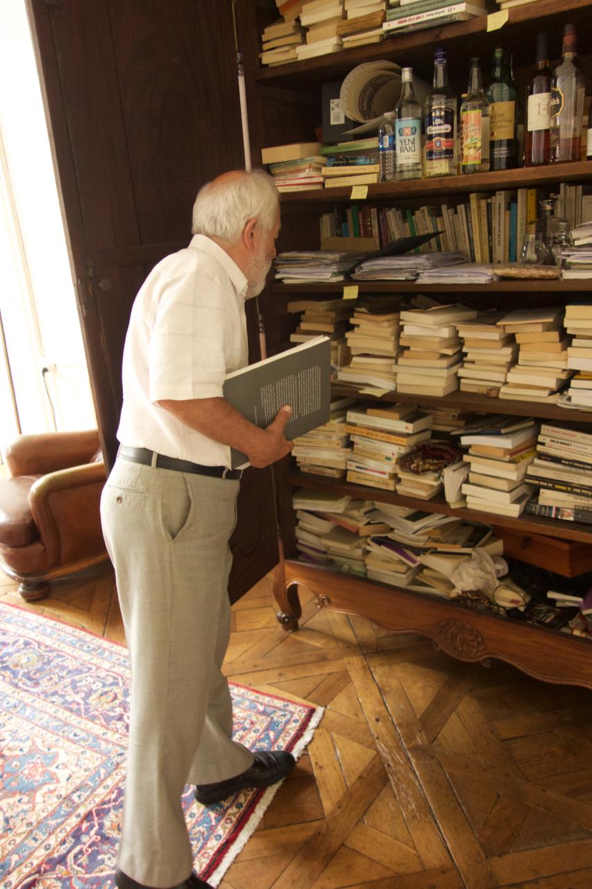 Yvon Chotard bibliothèque