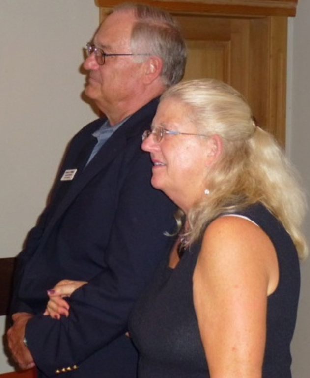 Leslie and Bob Williams at BOAF First Annual Conference 2012 -Bolzano-Italy