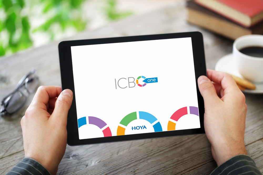 ICBO-One App - For better Communication and Information Sharing. - Thank you HOYA Vision Care Europe & VIVID VISION.