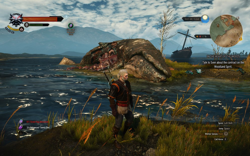 The art team at CDPR deserve an award for the world they have created, there are sights to behold at every turn.