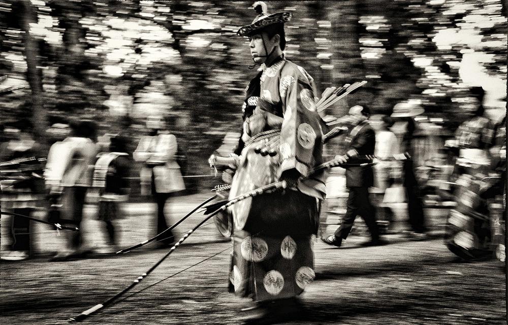 Archer Meiji Jingu bw.jpg