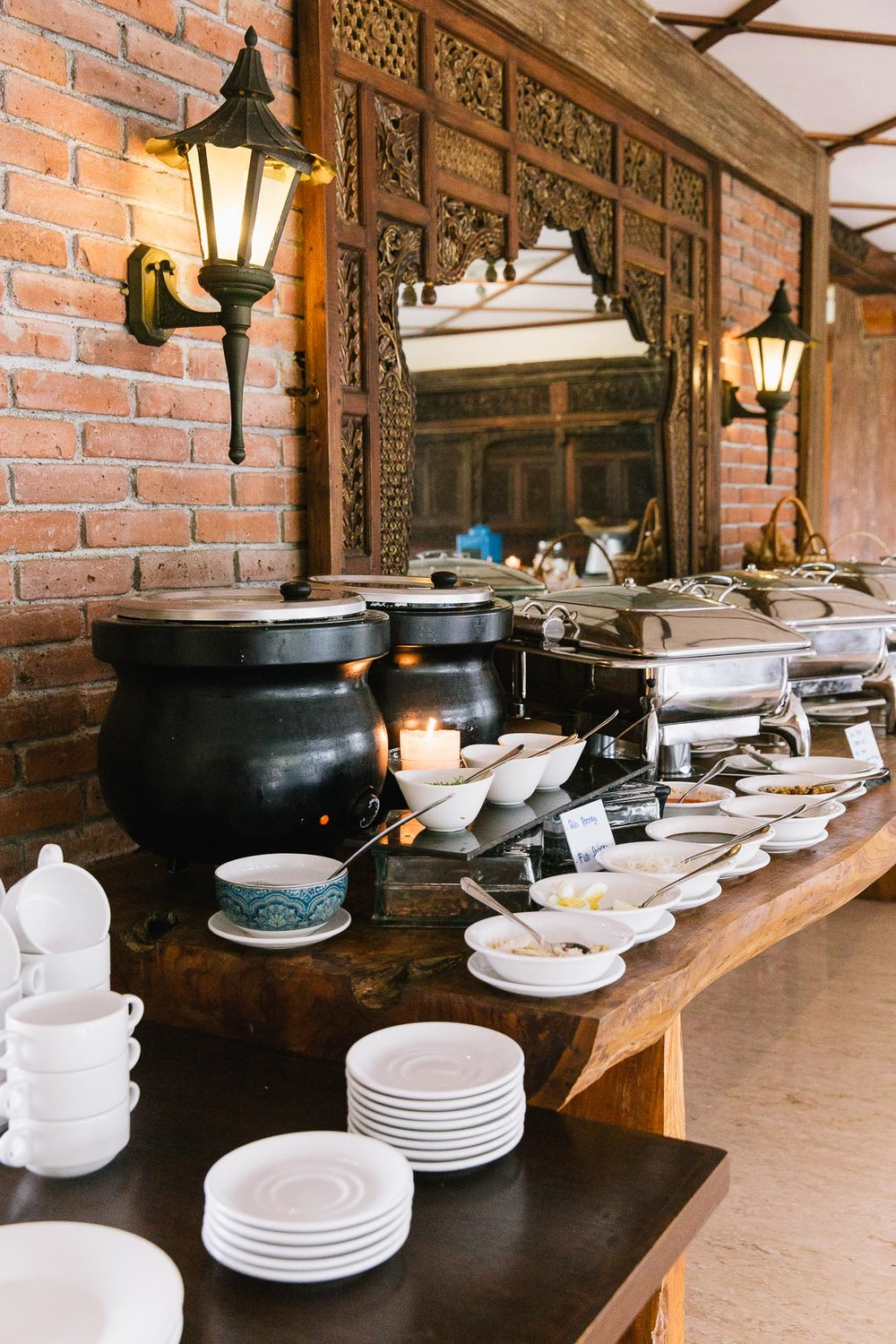 Plataran Ubud Breakfast Buffet