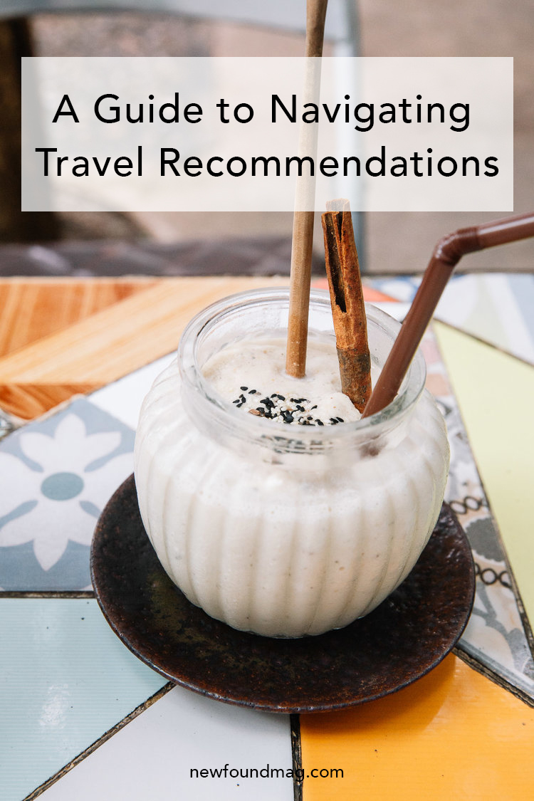 A Guide to Navigating Travel Recommendations