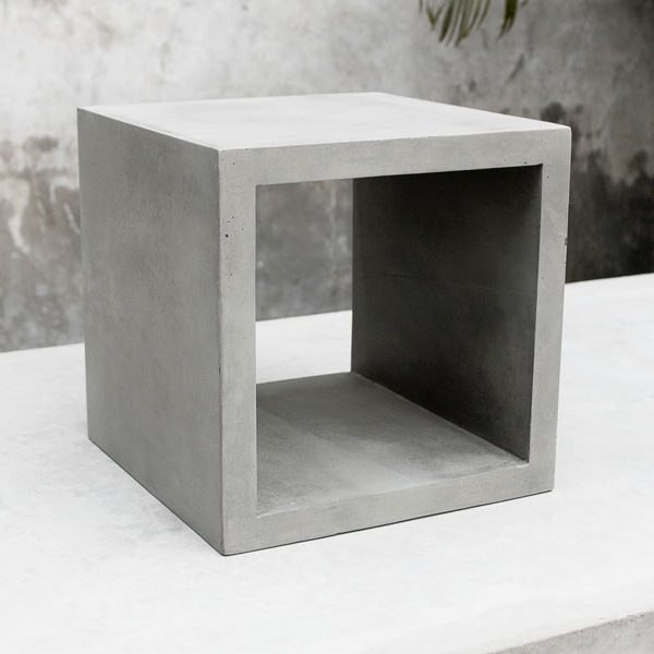 Concrete Storage Cube   Small