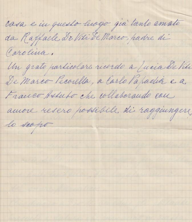 Le Costantine_DOCUMENTI_3_Copia del biglietto messo sotto la prima pietra delle Costantine