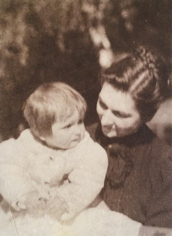 Harriett e Lucia bambina