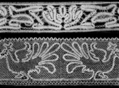 """Campionario di merletti abruzzesi raccolto da Etta De Viti De Marco e Minnie Luck, pubblicato in """"Emporium"""" nel 1905."""