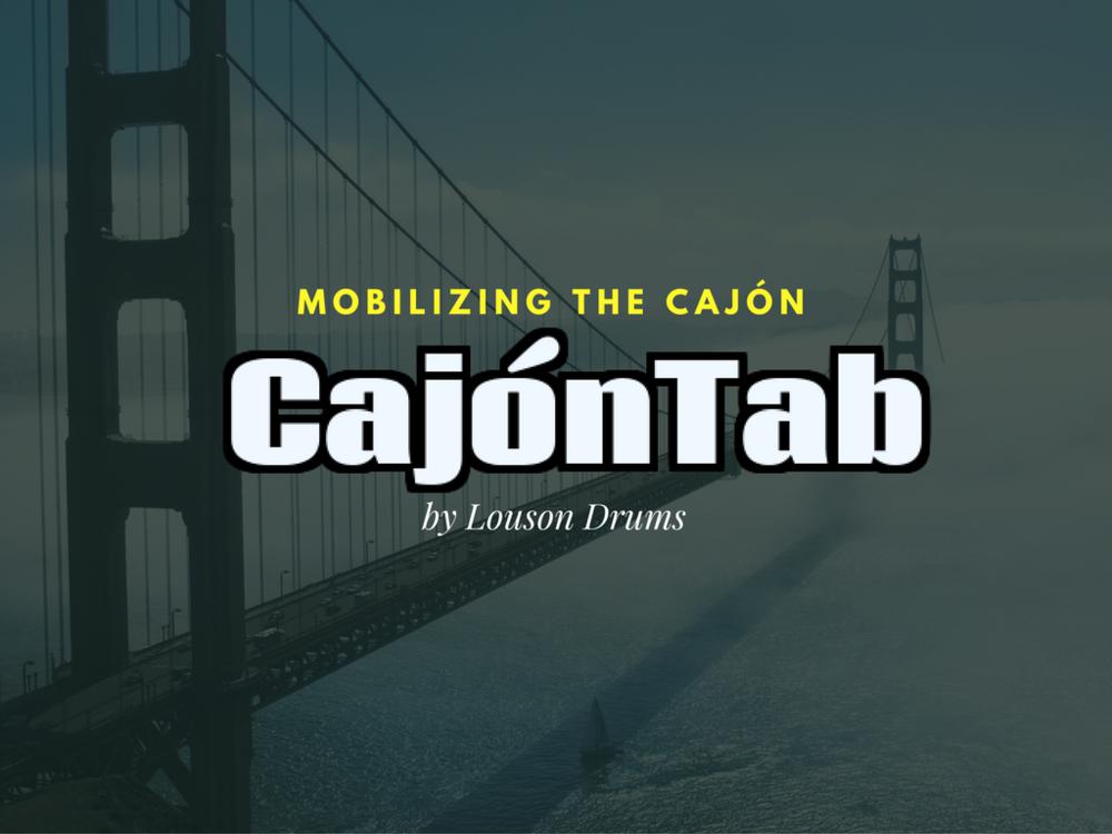 CajónTab introduction page 1