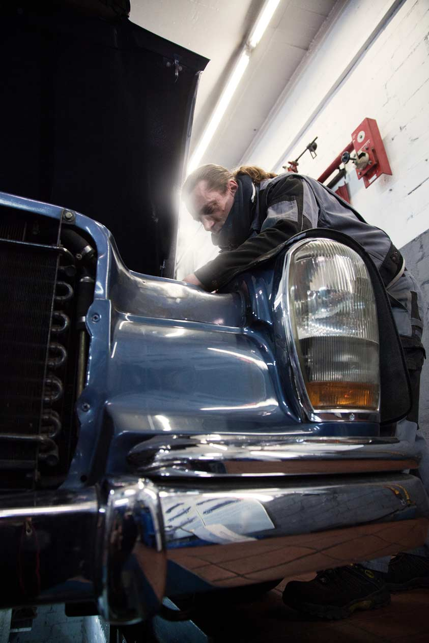 Mercedes-Benz Wartung und Reparatur bei Auto Schwarz