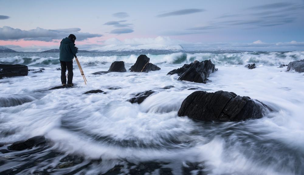 Lær fotografering i fanatastisk fjell- og kystlandskap i Lyngen.
