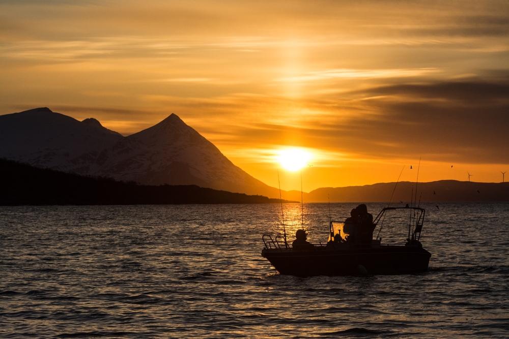Gode fiskemuligheter fra en av våre båter. ©Bjørn Joachimsen.