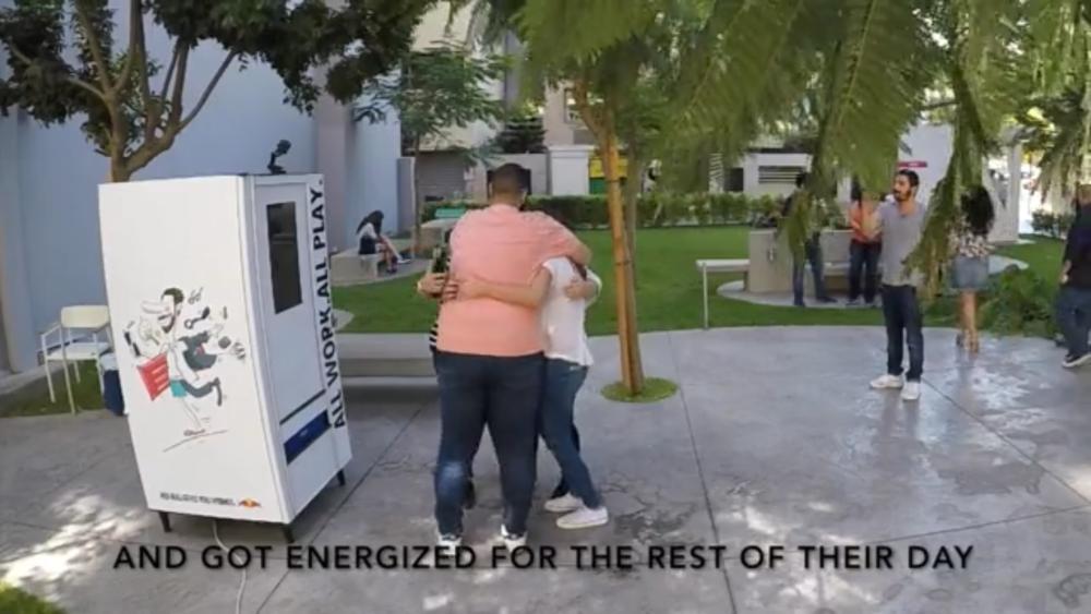Red Bull Talking Vending Machine