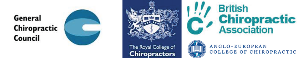 Logos for Chiropractic associations