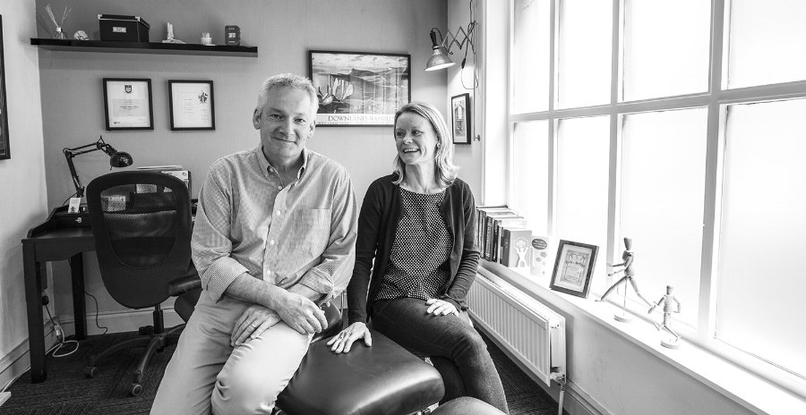 Gitte_Steffensen_and_Derek_Allen_in_their_Chiropractic_clinic_in_Lewes.jpg