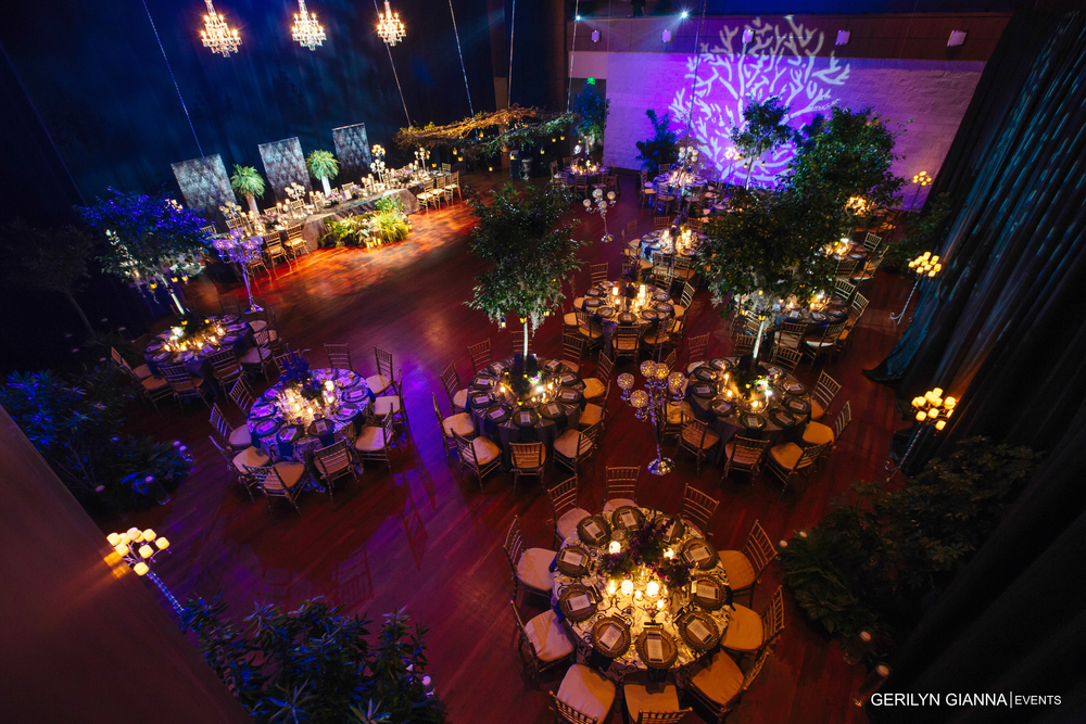 Palm Beach Florida Wedding and Event Decor Lighting | Gerilyn Gianna Floral Design