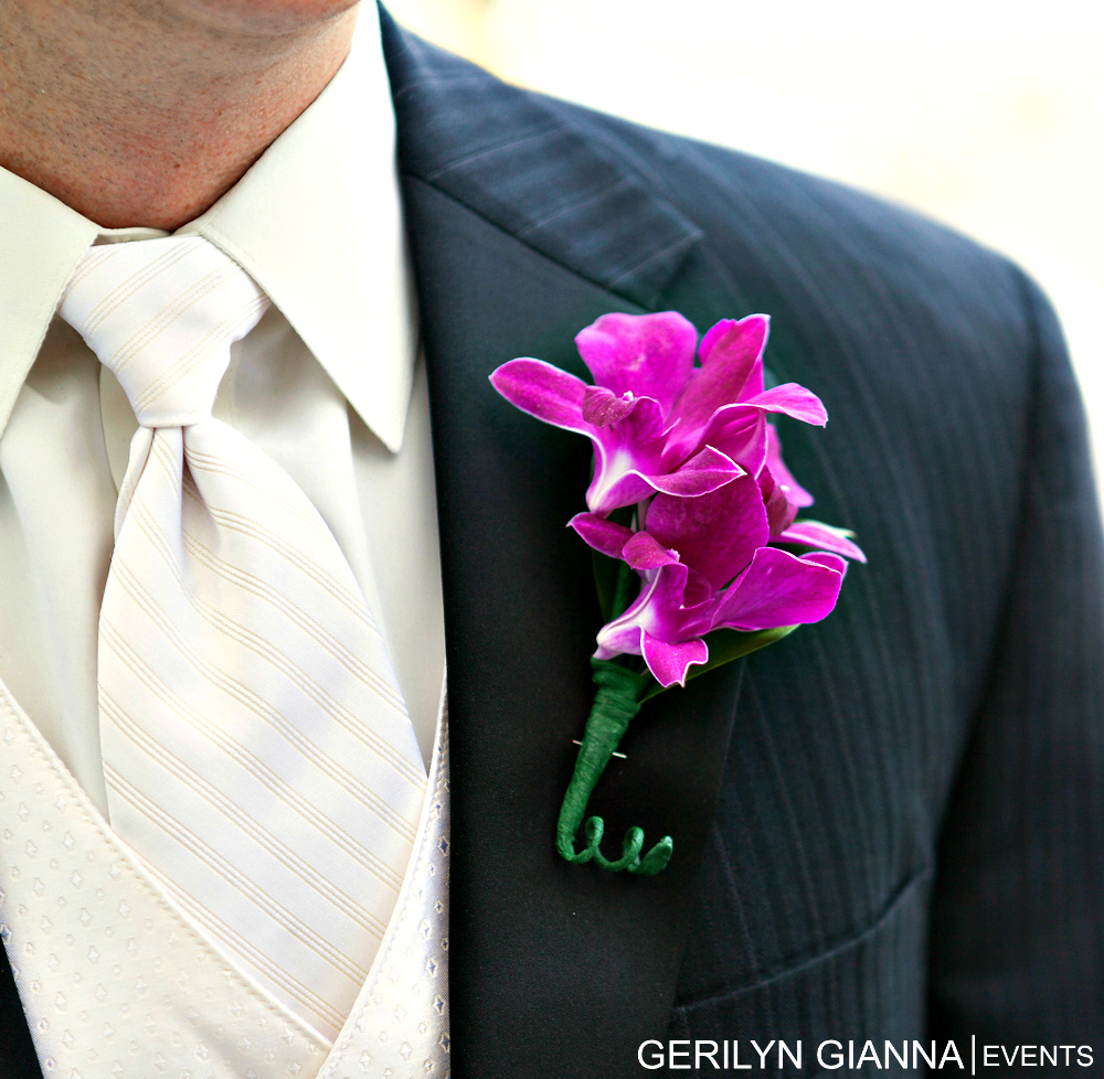 Palm Beach Weddings and Events | Palm Beach Floral Decor | Boutonnieres