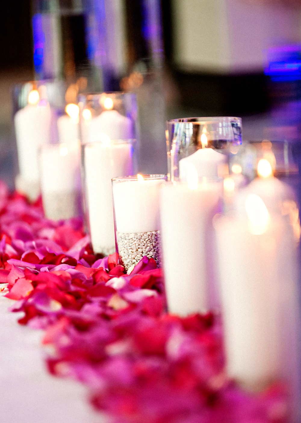 Candles Down the Aisle | Wyndham Grand Jupiter Wedding