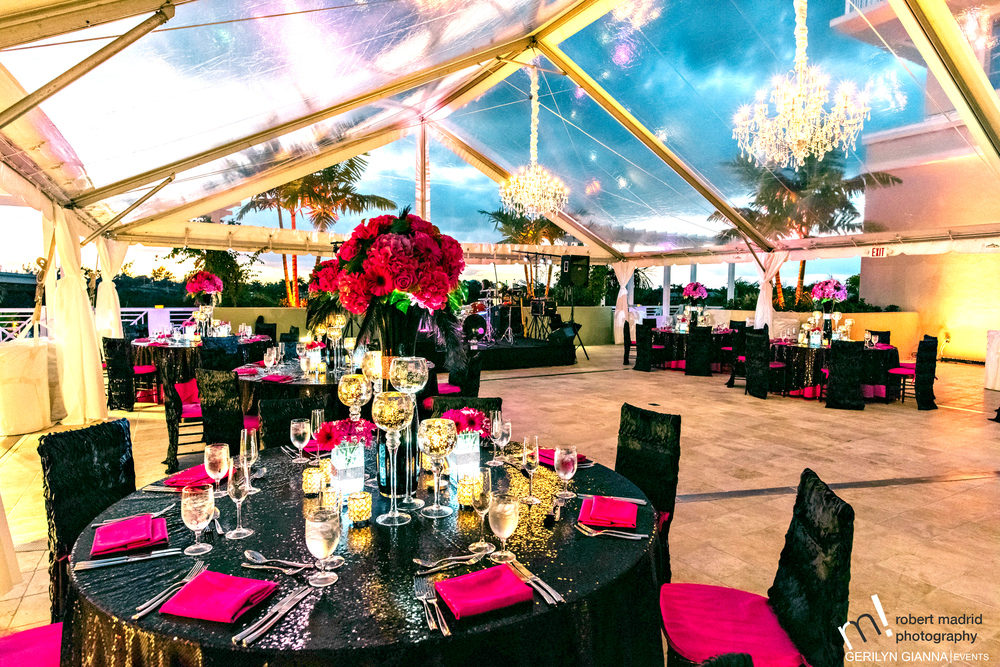 Wyndham Grand Jupiter Wedding Reception
