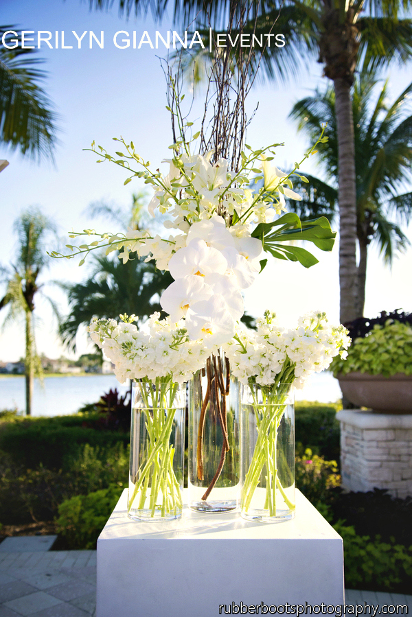 Gerilyn gianna event and floral design palm beach wedding