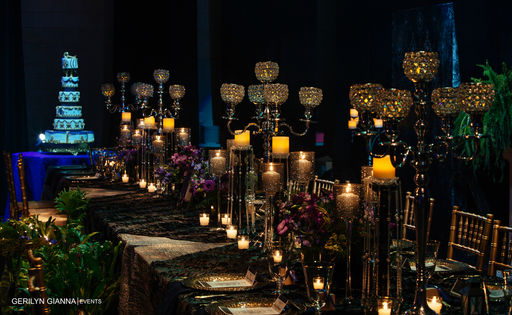 Gerilyn Gianna Event and Floral Design   Wedding at The Borland Center for Performing Arts   Medieval Wedding Theme   Robert Madrid Photography