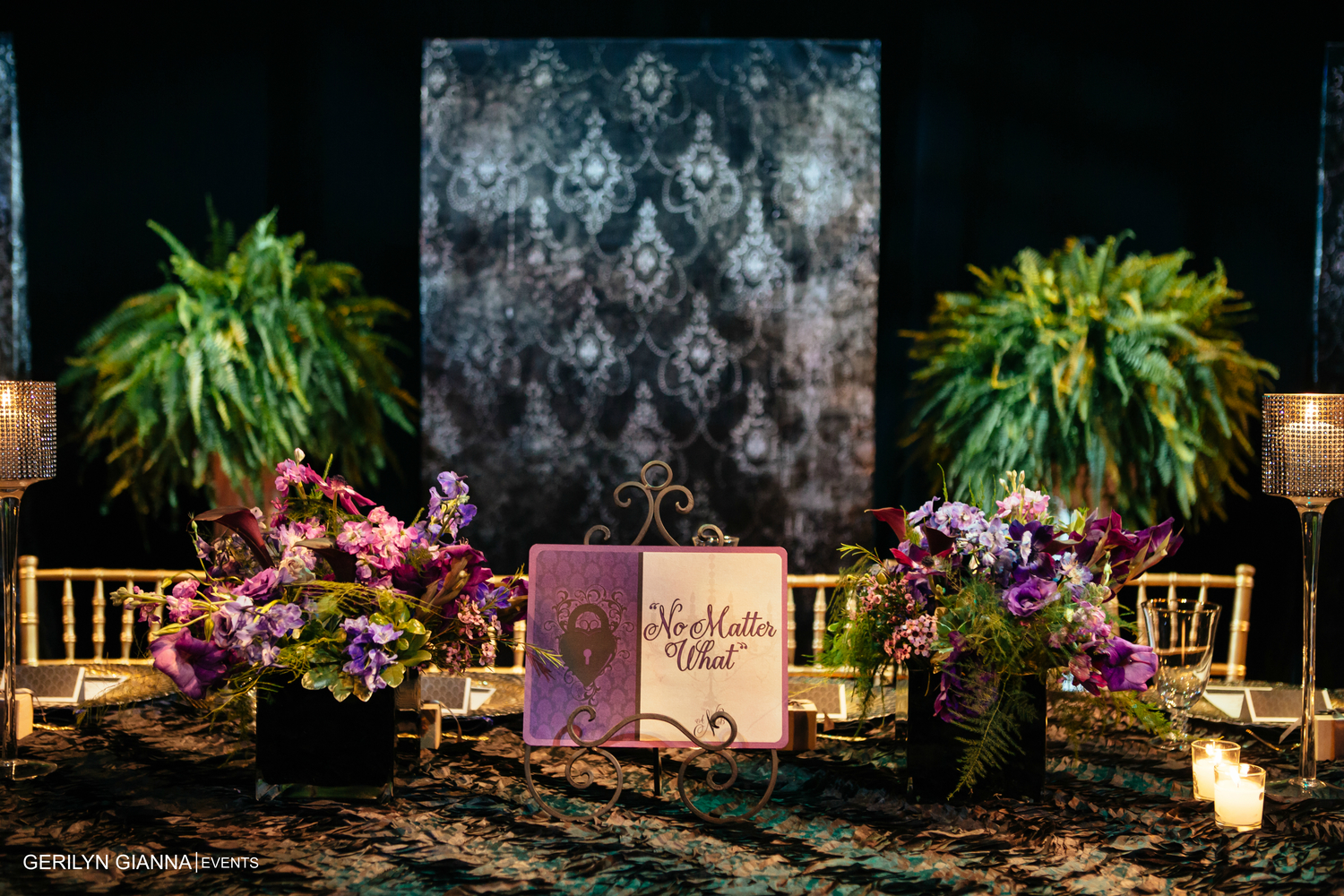 Gerilyn Gianna Event And Floral Design A Wedding With A Medieval