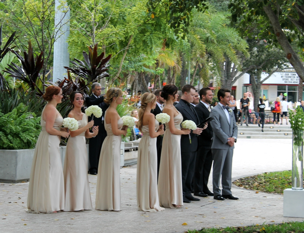 West Palm Beach Waterfront Pavilion Reception | Gerilyn Gianna Event and Floral Design