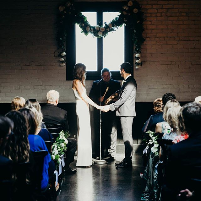 Extreme Weather Alert!  Indoor ceremonies aren't just for rain: when the heat and humidity of NYC hit, rethink that outdoor ceremony in favor of a cool, calm ceremony indoors. The possibilities for the setup are endless (and your flowers will thank you!). Check out 3 different takes here.  #501union#501unionwedding#brooklynwedding#broolkynbride#weddingceremony