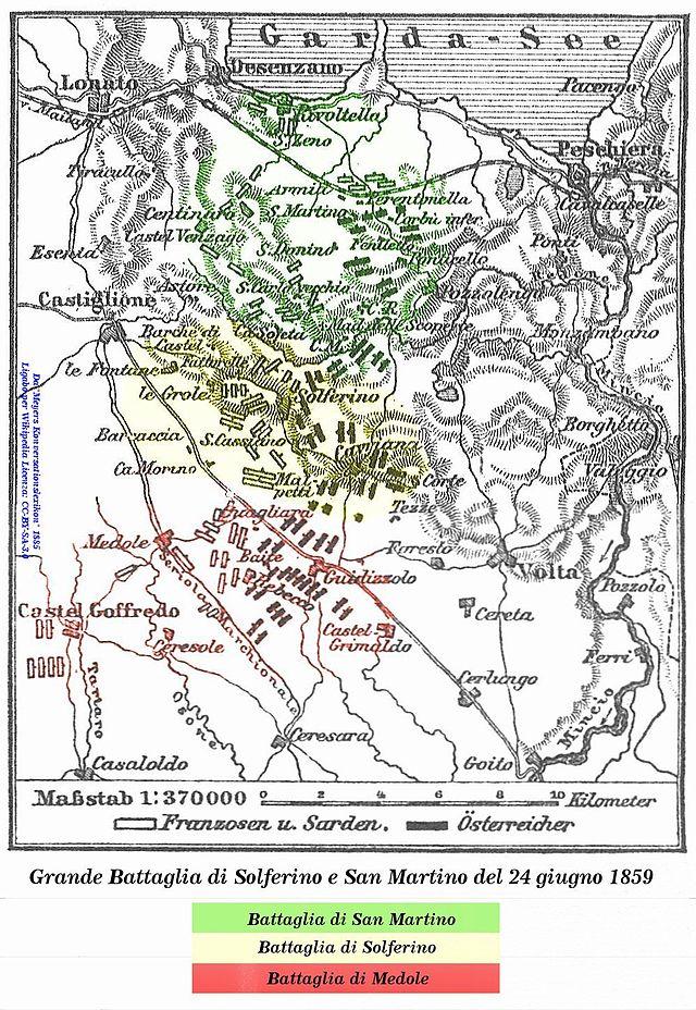 Battaglia di Solferino e San Martino. Da  Wikipedia , l'enciclopedia libera.