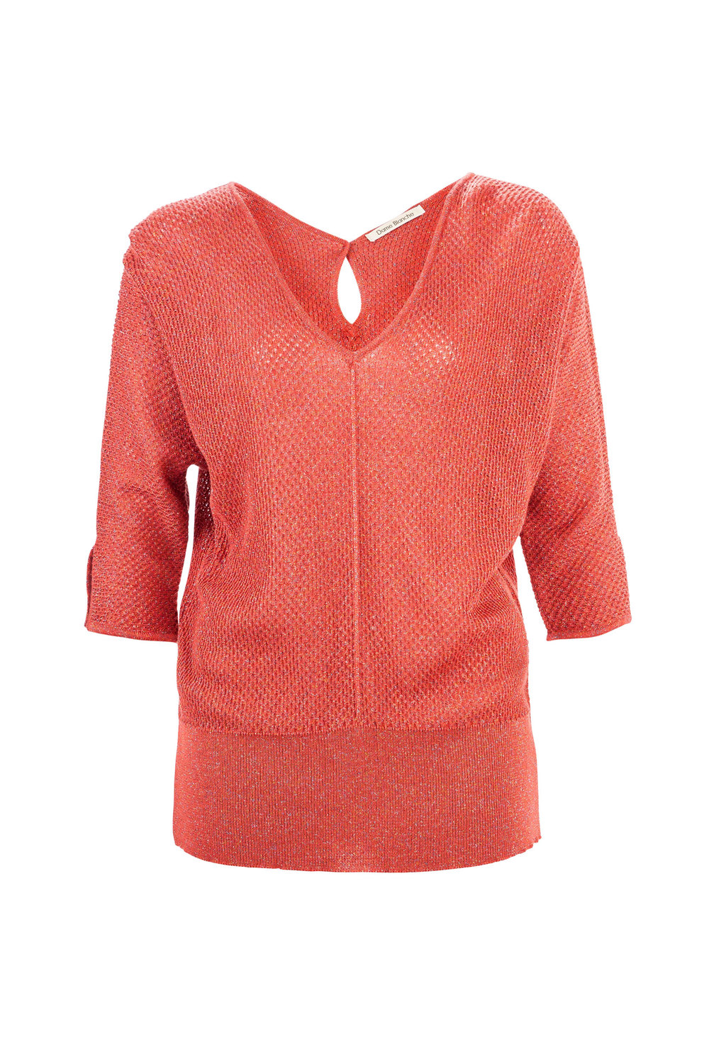 Pull  Edith - lurex coral