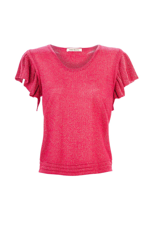Top Emilie - lurex pink
