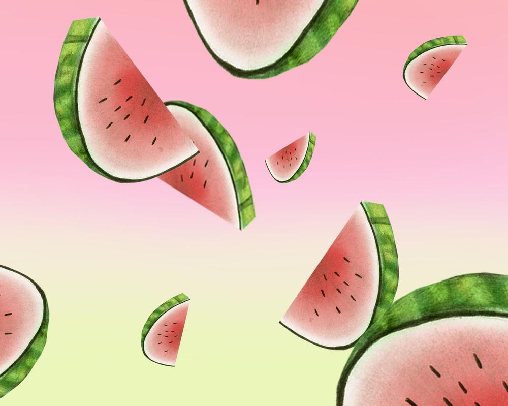 Watermelon Shower