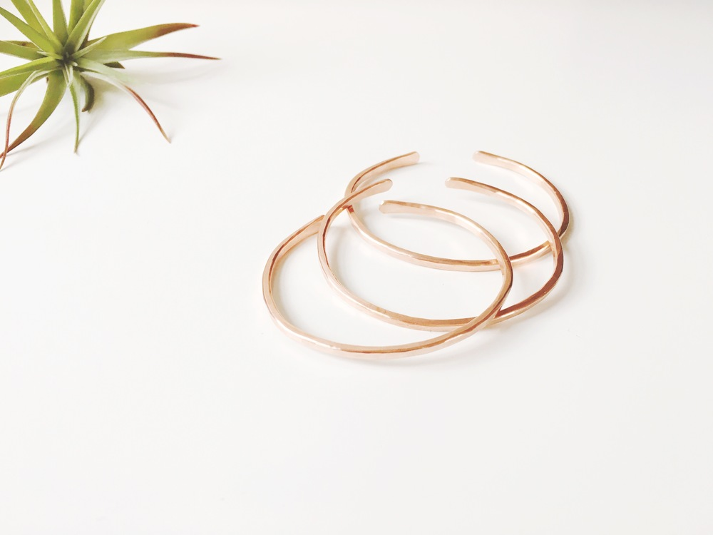 NEW Copper Stackers | Retail $25