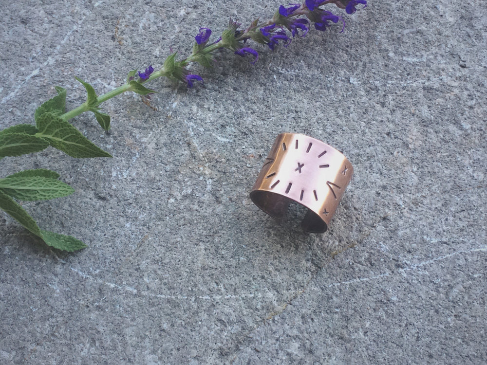 Copper Alchemy Ring | Retail $36