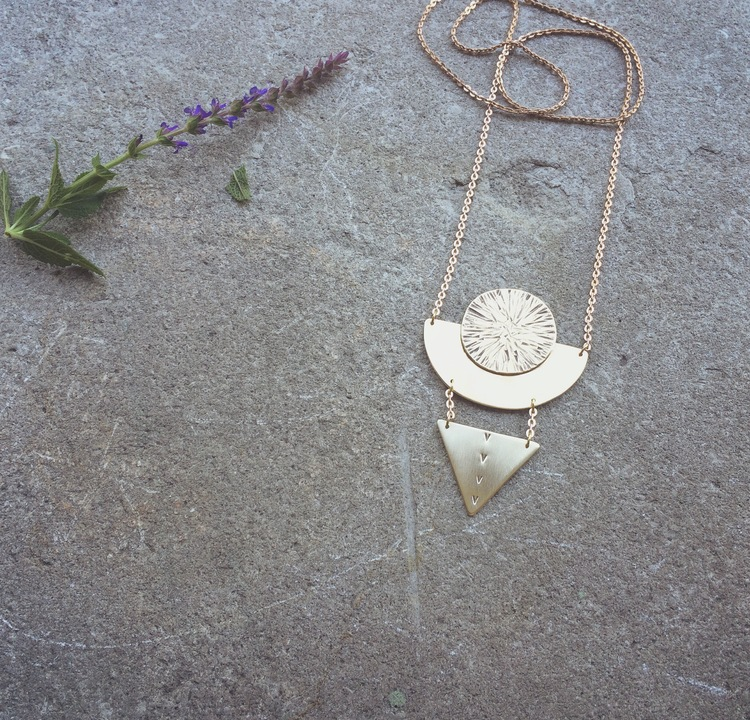 Moon Goddess Pendant | Retail $84