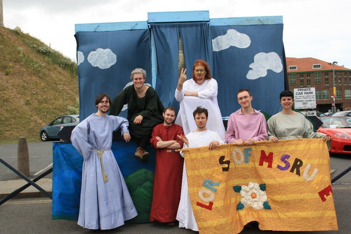 The Lords of Misrule in York Mystery Plays