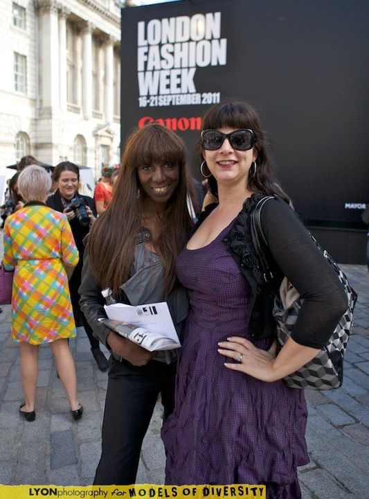 Model Press: LFW With Angel